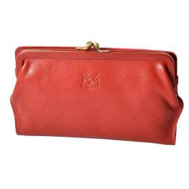 イルビゾンテ 長財布 二つ折り C0671 P 245 Rosso がま口 ロングウォレット CONTINENTAL