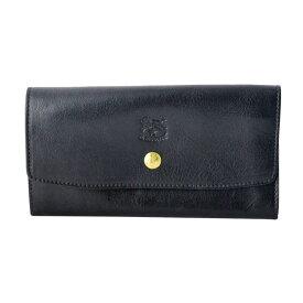 イルビゾンテ 財布 IL BISONTE Nero 背面L字ファスナー小銭入れ付 二つ折り長財布 C1008-P-153