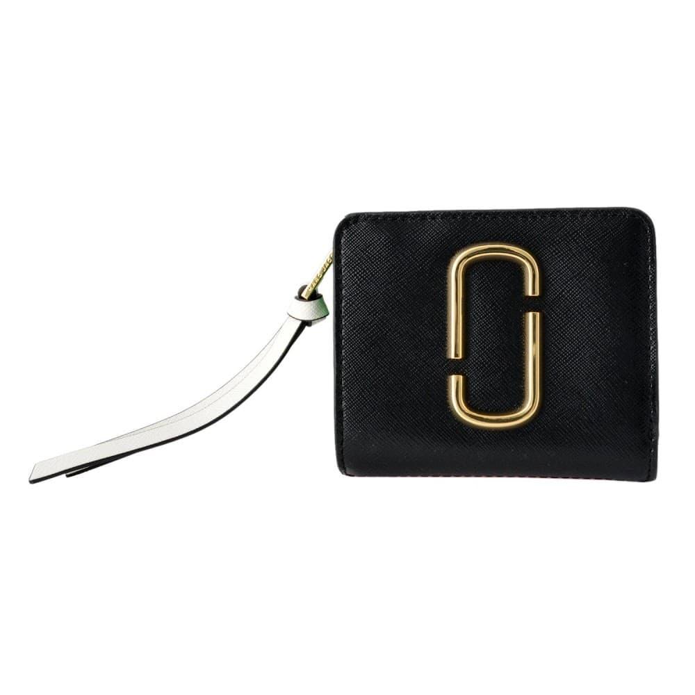 マークジェイコブス 財布 MARC JACOBS 二つ折り ミニ財布 ダブルJロゴ スナップショット カラーブロック M0013360-978