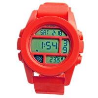 NIXONニクソンメンズ腕時計THEUNITユニットレッドペッパーデジタルウォッチメンズ男性用A197383A197-38302P12Oct15