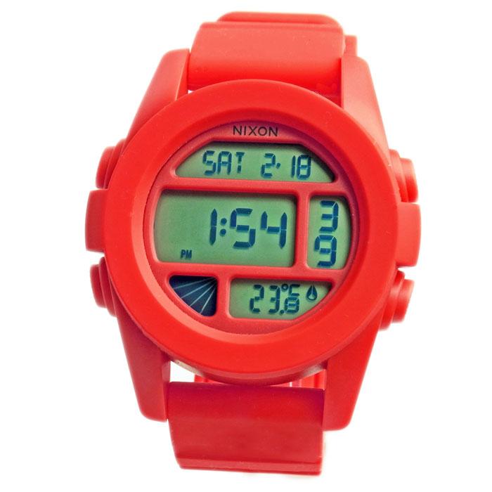 NIXON ニクソン メンズ腕時計 THE UNIT ユニット レッドペッパー デジタルウォッチ メンズウォッチ 男性用 A197383 A197-383