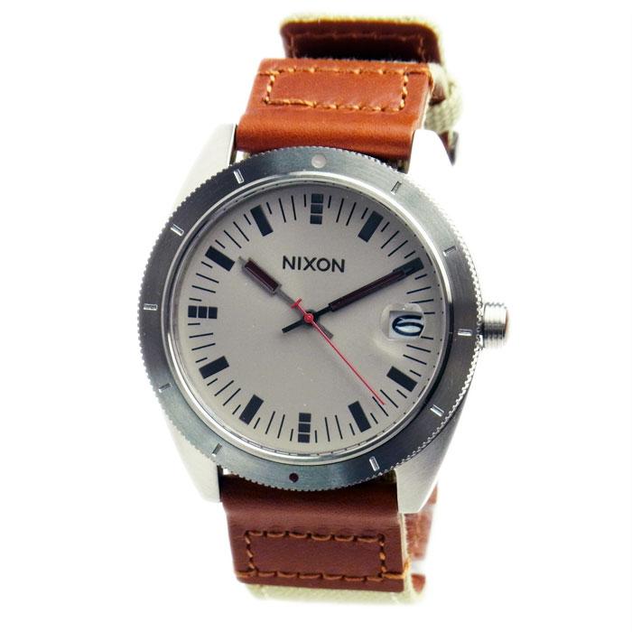 NIXON ニクソン メンズ腕時計 ROVER ローバー サンド/サドル シルバー×ベージュ×ブラウン A3551430 A355-1430 メンズウォッチ 男性用