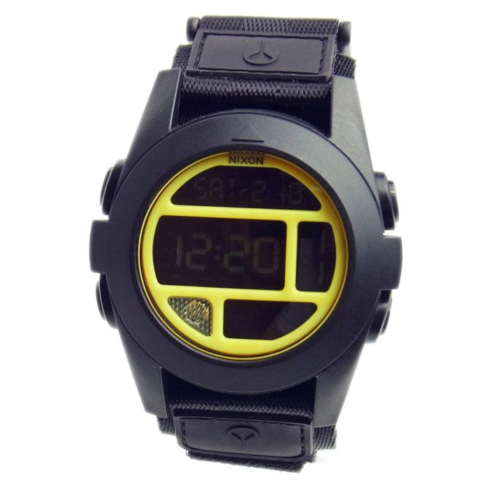 NIXON ニクソン メンズ腕時計 BAJA バハ ブラック/イエロー A489-293 A489293 メンズウォッチ 男性用