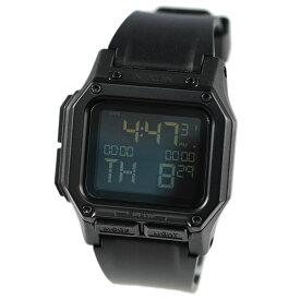 ニクソン レグルス 腕時計 メンズ NIXON REGULUS オールブラック デジタル A1180001 A1180-001