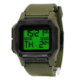 ニクソン レグルス 腕時計 メンズ NIXON REGULUS サープラス/カーボン デジタル A11803100 A1180-3100