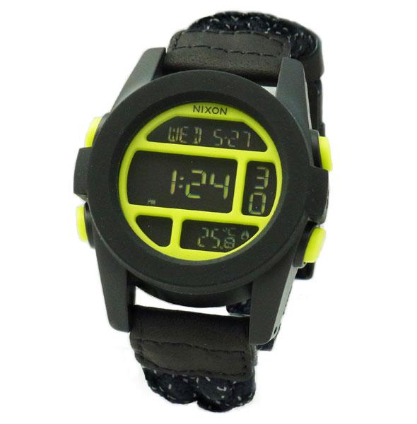 NIXON ニクソン メンズ腕時計 THE UNIT ユニット ブラック/リフレクティブウーベン イエロー デジタルウォッチ メンズウォッチ 男性用 A1971941 A197-1941