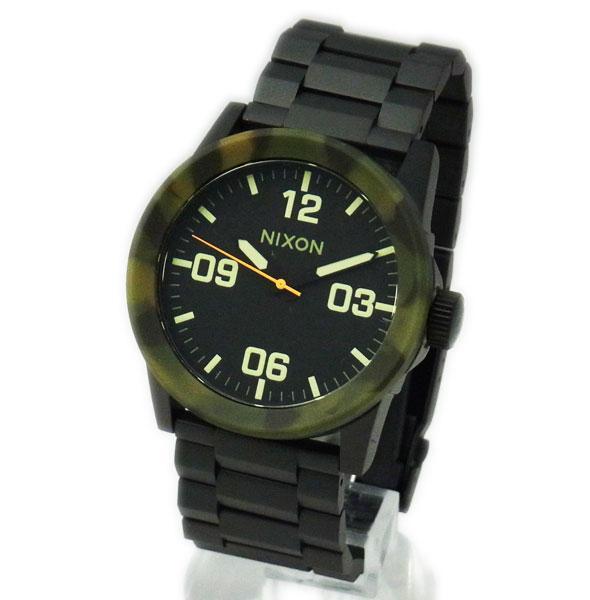 NIXON ニクソン メンズ腕時計 THE PRIVATE SS プライベート マットブラック×カモ メンズウォッチ 男性用 A2761428 A276-1428