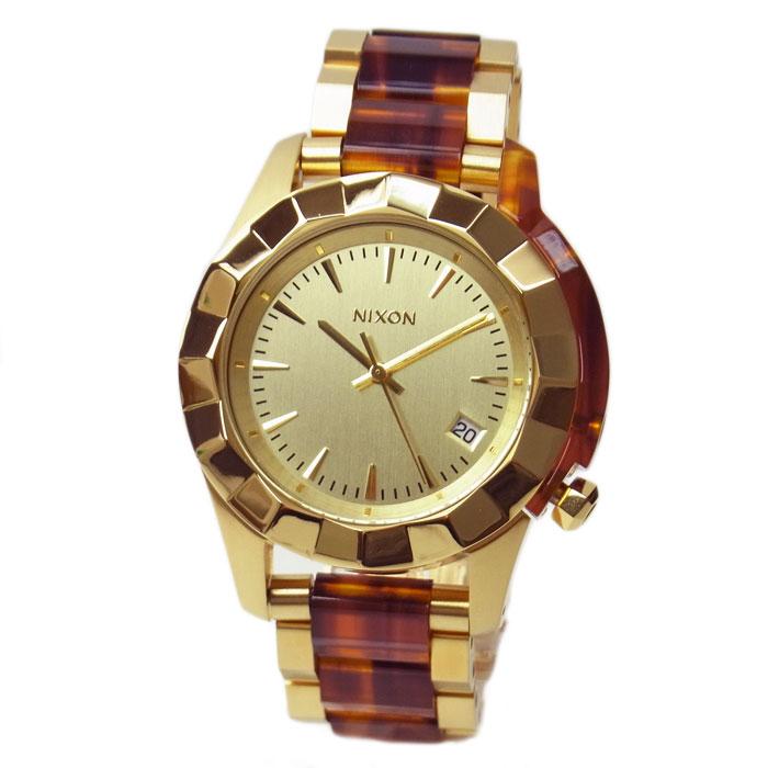 ニクソン 腕時計 レディース NIXON モナーク ゴールド/モラセス A2881424 A288-1424