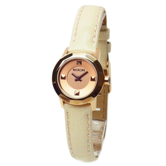 NIXON ニクソン 腕時計 レディース MINI B ミニビー ソフトピンク/ローズゴールド 女性用 A3381532 A338-1532