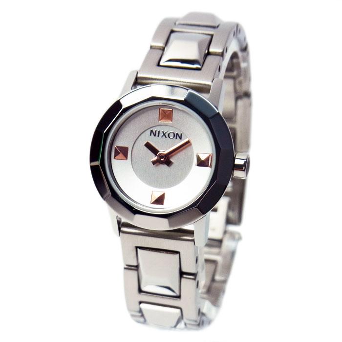 NIXON ニクソン 腕時計 レディース MINI B ミニビー シルバー 女性用 A339130 A339-130
