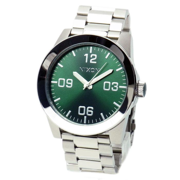 ニクソン 腕時計 メンズ NIXON Corporal コーポラル グリーンサンレイ A3461696 A346-1696