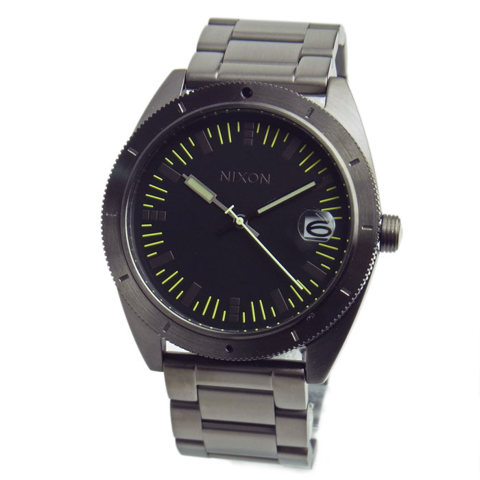 NIXON ニクソン メンズ腕時計 THE ROVER SS ローバー オールガンメタル メンズウォッチ 男性用 A359632 A359-632