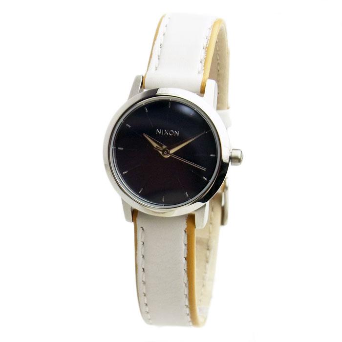 ニクソン 腕時計 レディース NIXON KENZI LEATHER ケンジレザー ネイビー/ホワイト 女性用 A398-321 A398321