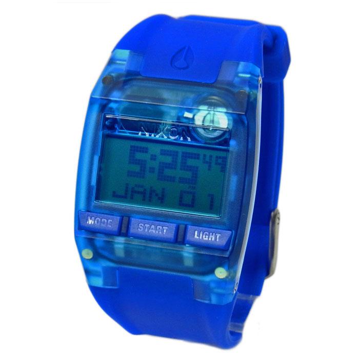 NIXON ニクソン 腕時計 ユニセックス THE COMP コンプ オールコバルトブルー デジタル メンズ レディース A4082041 A408-2041
