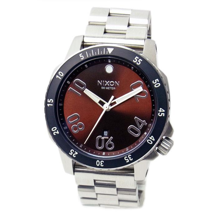 NIXON ニクソン 腕時計 メンズ RANGER レンジャー ブラウン/サンレイ A5062097 A506-2097