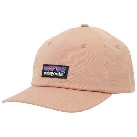 パタゴニア 帽子 キャップ PATAGONIA メンズ ユニセックス P-6 ラベル トラッド ピンク ハット ベースボールキャップ 38296-SCPI