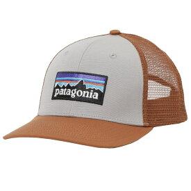 パタゴニア 帽子 キャップ PATAGONIA メンズ ユニセックス P-6ロゴ トラッカー ハット グレー メッシュ ベースボールキャップ 38289-DFTG