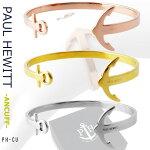 PAULHEWITTポールヒューイットPH-CUANCUFFアンカーモチーフカフバングルブレスレットユニセックスローズゴールド/ゴールド/シルバー