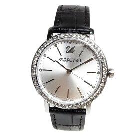 スワロフスキー 腕時計 レディース SWAROVSKI 5261668 グレイスフルレディー Graceful Lady ダークブラウンレザーベルト