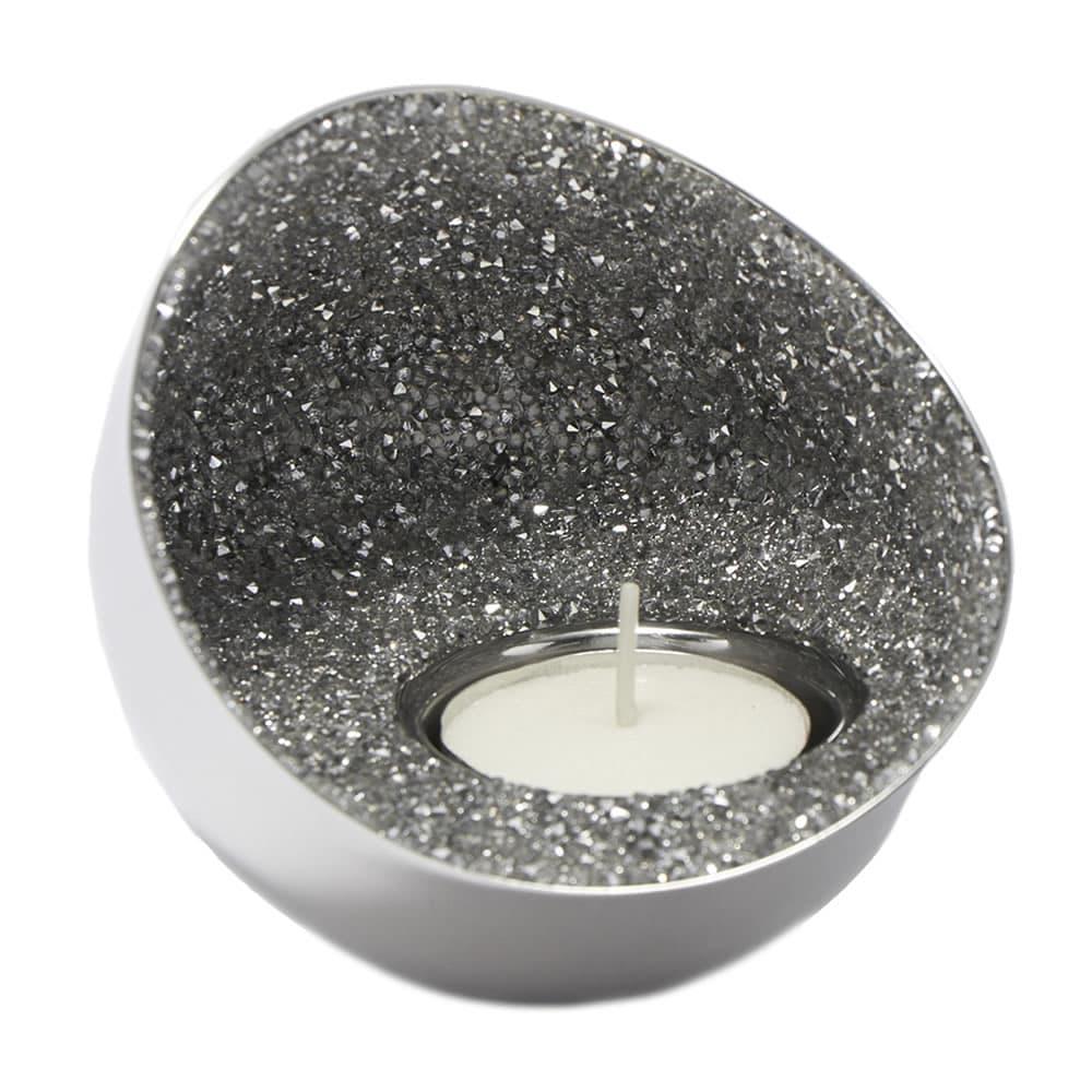 スワロフスキー SWAROVSKI 5265143 約4100粒のクリスタルの輝き ティーライト キャンドルホルダー Minera Tea Light