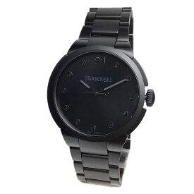 スワロフスキー 腕時計 ユニセックス レディース SWAROVSKI 5181626 City ブラック ブレスレット ウオッチ
