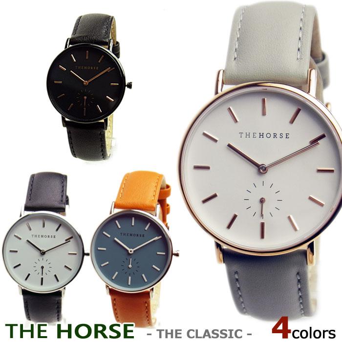 ザホース THE HORSE 時計 レディース メンズ THE CLASSIC ザ・ホース ザクラシック ユニセックス 本革ベルト