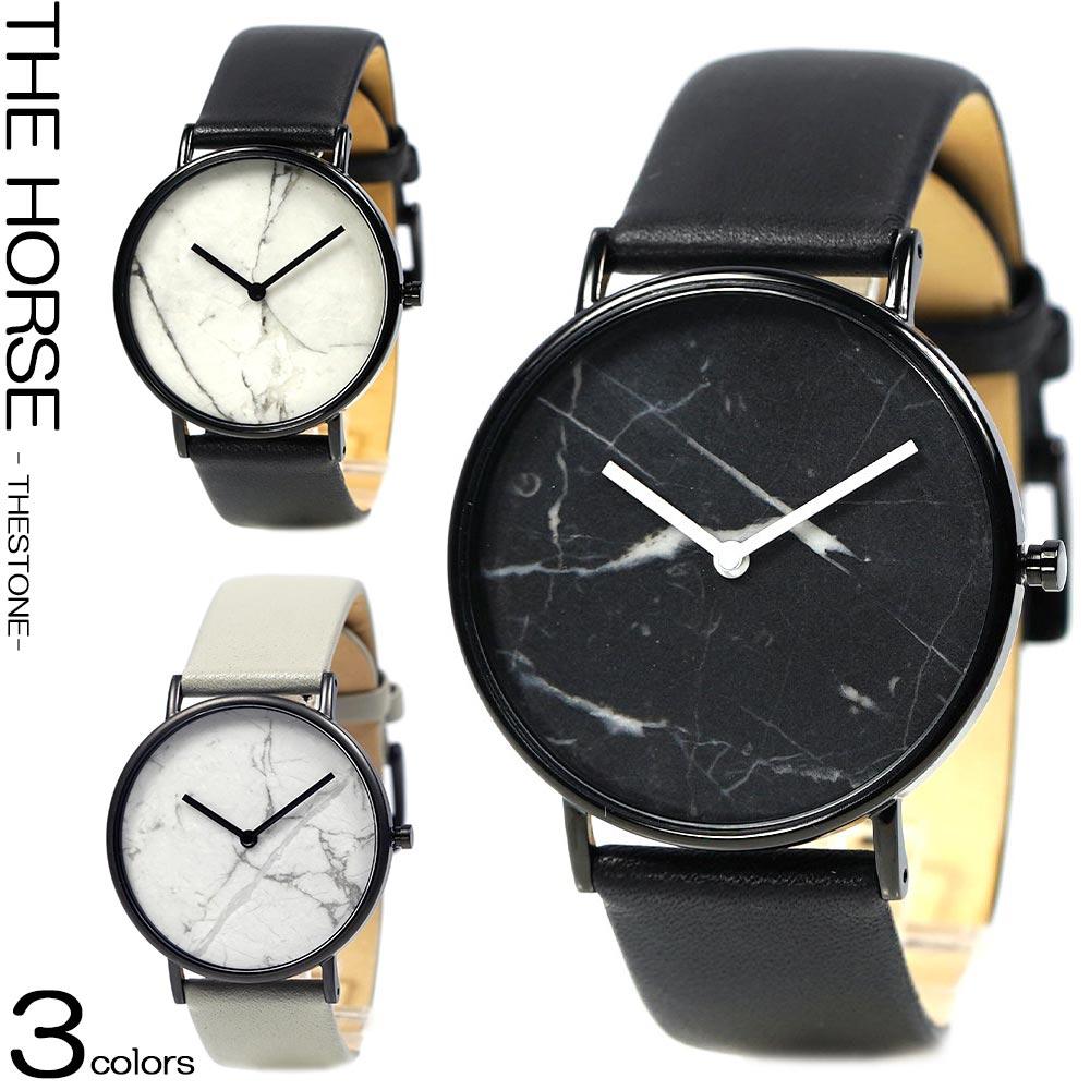 ザホース THE HORSE 時計 レディース メンズ THE STONE ザ・ホース ザストーン ユニセックス 本革ベルト