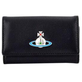 ヴィヴィアンウエストウッド キーケース Vivienne Westwood BLACK 4連 DERBY KEY CASE 51020001-40564-N408
