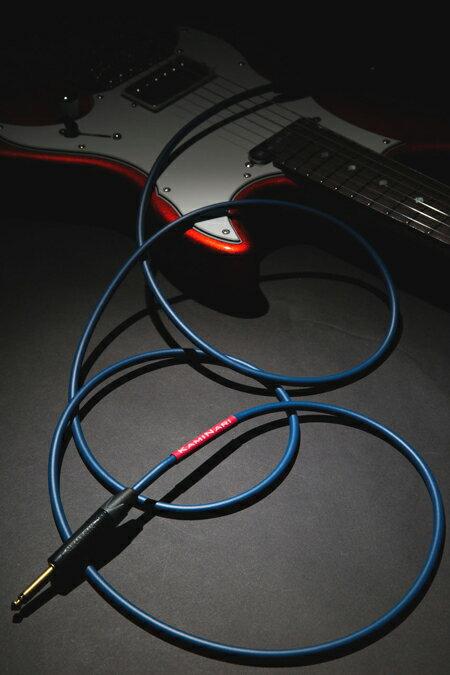 【送料無料!】【神鳴(KAMINARI GUITARS)】【シールドケーブル】Electric Guitar Cable 7m S/S K-GC7SS