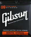 【Gibson(ギブソン)】【エレキギター弦】BRITE WIRES SEG-700UL
