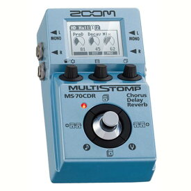 *【ZOOM(ズーム)】MULTI STOMP MS-70CDR