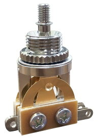 【SCUD】【スイッチ】トグルスイッチ 縦型 ゴールド端子 国産 YM-T20GGR
