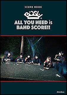 ○【楽譜】【バンドスコア】BiSH/ALL YOU NEED is BAND SCORE!!