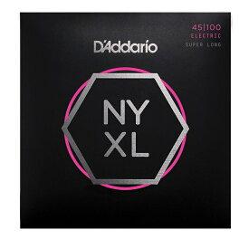 D'Addario ダダリオ ベース弦 NYXL Super Long Scale .045-.100 NYXL45100SL