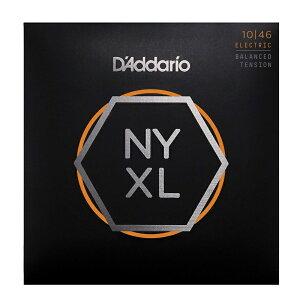 【ゆうパケット・送料無料】D'Addario ダダリオ エレキギター弦 NYXL Balanced Tension Regular Light .010-.046 NYXL1046BT