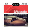 【D'Addario (ダダリオ)】【マンドリン弦】EXP74 EXP Coated PhosphorBronze - Medium