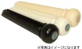 【SCUD】【ブリッジピン】ブリッジピン F-3608 プラスティック、アバロン点入り(ブラック)  6本入り
