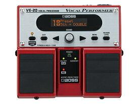 *【ツインペダル】【BOSS(ボス)エフェクター】VE-20(ヴォーカル・プロセッサー )