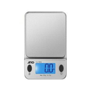 【送料無料】エー・アンド・デイ コンパクトスケール 0.2g-150g 保護カバー/分銅付 HJ-150A-JA はかり スケーラー 測定 計測器具 A&D