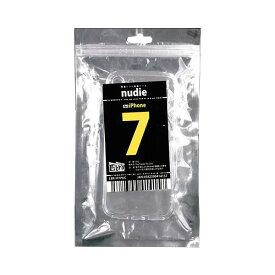 【メール便送料無料】軽量ソフト保護ケース iPhone8/7用 1個 クリア nudie Libra LBR-IP7PUC TPU スマホケース 【在庫限り】
