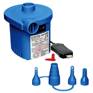 5%OFFクーポン+ポイント2倍!【送料無料】電動ポンプ USB充電式 吸気 排気対応 空気入れ イガラシ TPS-12U 電動エアーポンプ 電動 ポンプ 空気入れ プール ウキワ ボート ビーチボール
