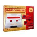 【送料無料】ゲームコンピューターFCCLASSICAL3rdレッドファミコン互換機30ゲーム内蔵AH9975AA-RDUSB電源モバイルバッテリー対応小型軽量コンパクト