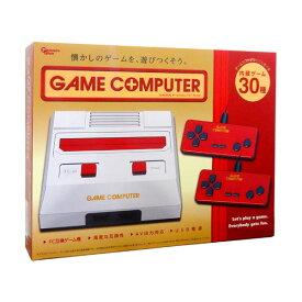 【送料無料】ゲームコンピューターFC CLASSICAL 3rd レッド ファミコン互換機 30ゲーム内蔵 AH9975AA-RD USB電源 モバイルバッテリー対応 小型 軽量 コンパクト