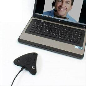 エントリポイント2倍!10/31!【送料無料】サンコー Skype スピーカーフォン みんなで話す蔵 Skype対応スピーカー USBSKPMT
