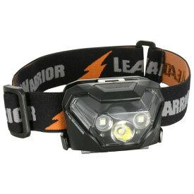 【送料無料】LEDヘッドライト 400lm IPX4(防飛まつ) ブラック OHM 08-0994 LC-LW431RW-K 懐中電灯 アウトドア 防災 防犯グッズ