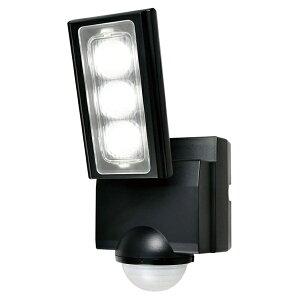 【送料無料】ELPA 屋外用LEDセンサーライト 乾電池式 ESL-311DC 防水 防犯 人感センサー セキュリティ エルパパ