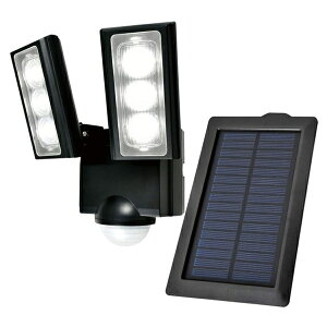 【送料無料】ELPA 屋外用LEDセンサーライト ソーラー式 ESL-312SL 防水 防犯 人感センサー セキュリティ エルパパ