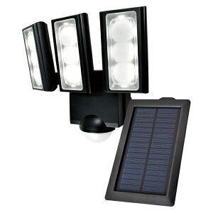 【送料無料】ELPA 屋外用LEDセンサーライト ソーラー式 ESL-313SL 防水 防犯 人感センサー セキュリティ エルパパ