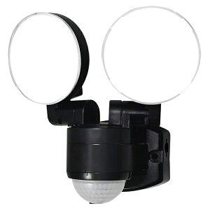 5%OFFクーポン+ポイント2倍!【送料無料】ELPA 屋外用LEDセンサーライト AC電源 ESL-SS412AC 防雨 防犯 人感センサー セキュリティ エルパ