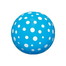 【メール便送料無料】水玉ビーチボール 40cm ブルー イガラシ BGP-540BL 浮き輪 フロート ボート かわいい おしゃれ インスタ 海 川 プール レジャー